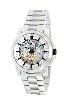 Kenneth Cole New York Men's KC9112 Automatic Triple Silver Automatic Watch Kenneth Cole. $105.07. Solid stainless steel case, case back and crown. 21-jewel, japanese quartz analog automatic movement, with exhibition case back. Water-resistant to 165 feet (50m). Solid stainless steel link bracelet and buckle. Durable mineral crystal protects watch from scratches,