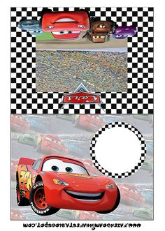 Cars: Free Printable Party Invitations. 1st Birthday Invitation Template, Cars Birthday Invitations, Cars Birthday Parties, Party Printables, Free Printable Party Invitations, Scrapbook Da Disney, Disney Cars Party, Race Car Party, Scrapbooking