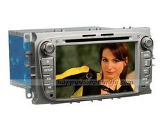 Ford C-Max 2007-2010 Android 4.0 auto radio, 7 inch car DVD player head unit with touch screen, GPS navigation system with dual zone function, WIFI, 3G Internet Access, digital TV tuner (DVB-T MPEG-2 or MPEG-4, ATSC M/H or ISDB-T optional to suit for customers from different areas), RDS, Bluetooth car kit, iPod port, USB, SD, support the original steering wheel controls, CAN bus decoder to support the orignal digital amplifier (optional), Color: Silver, Black