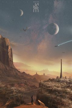 John Carter's Mars is one of my favourite places.