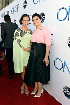 Bailee and Ginny at the season 4 premiere
