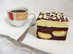 Prajitura-cu-piscoturi-incorporate-in-blat-9 Tiramisu, Ethnic Recipes, Food, Tricot, Meals, Yemek, Eten, Tiramisu Cake