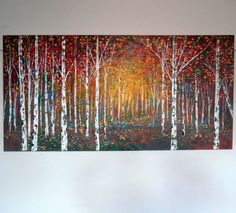 Large original oil painting modern impasto  by jeanvadalsmith, $389.00