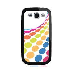 Circle Rainbow Samsung Galaxy S3 Case