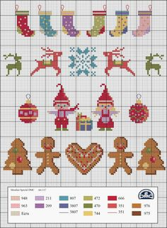Ideas Embroidery Christmas Stocking Cross Stitch Patterns For 2019 - Cross stitch embroidery - Tiny Cross Stitch, Xmas Cross Stitch, Cross Stitch Kits, Cross Stitch Charts, Cross Stitch Designs, Cross Stitching, Cross Stitch Embroidery, Embroidery Patterns, Hand Embroidery