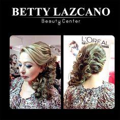 Maquillaje y peinado En Betty Lazcano Ven y marca tendencia! Citas 667 712 59 74 y 667 716 43 25