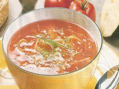 Hospodyně: Polévka z rajčat a cukety (bezlepková-bezgluténová...