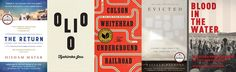 The 2017 Pulitzer Prize winners have been announced. Delve into their books, from Colson Whitehead's The Underground Railroad to Matthew Desmond's Evicted.