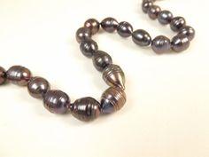 Purple Akoya Medium Oval FW Pearls 8mm  20 Loose by twirlsupply, $11.99