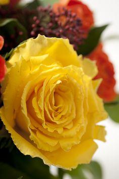 Rose jaune - Bouquet Désir Interflora France