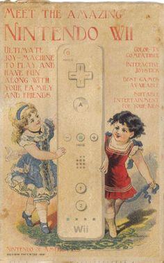 anuncios retro para gadgets: Wii