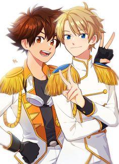 Digimon Tri. Yagami Taichi y Ishida Yamato 32 twitter