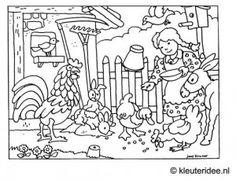 ausmalbilder bauernhof 03 | victor | ausmalen, bauernhof