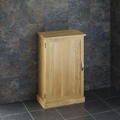 clickbasin Round Glass Sink With by Oak Single Door Bathroom Vanity Cabinet Set Includes Tap and Pop Up Waste Slimline Bathroom Storage, Narrow Bathroom Cabinet, Bathroom Storage Units, Vessel Sink Vanity, Bathroom Vanity Cabinets, Bathroom Furniture, Small Bathroom, Coral Bathroom, Bathrooms