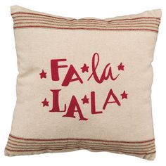 Toss this festive pillow onto your sofa or daybed for a festive holiday touch, perfect for welcoming potluck guests and out-of-town friends....