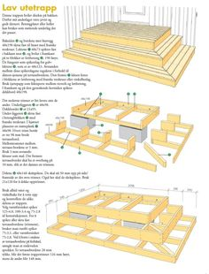 Building A Deck 502362533435768493 - How to build Wooden Stairs (Easy steps) – Decor Units Source by crevisier Patio Deck Designs, Patio Design, Backyard Projects, Backyard Patio, Deck Steps, Outdoor Steps, How To Build Porch Steps, Patio Stairs, Terrasse Design
