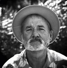 Bill Murray,  or someone with a paunch… - JB