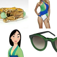 Mulan Beach Look Book