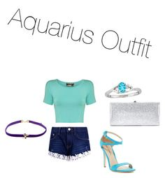 """Aquarius Outfit"" by spanishfashionista on Polyvore featuring Pilot, Boohoo, Via Spiga, Jimmy Choo and Daniela Villegas"