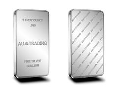 AU Trading Brand - Brand New 999 Fine 1 Ounce Silver Bullion Bar Item is available for immediate delivery. Fast, insured delivery available. Offshore bullion storage available.