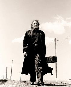 In commemoration of the 80th Birthday. Johnny Cash. Walking the Line