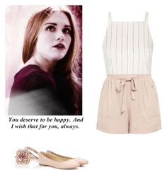 """Lydia Martin valentine's day outfit with flats - tw / teen wolf"" by shadyannon ❤ liked on Polyvore featuring Topshop and Chloé"