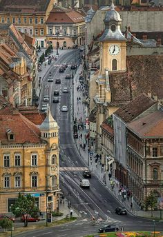 Brașov, one of the most beautiful cities in Romania 🇷🇴️ Places Around The World, The Places Youll Go, Places To See, Places To Travel, Travel Destinations, Around The Worlds, Travel Europe, Wonderful Places, Beautiful Places