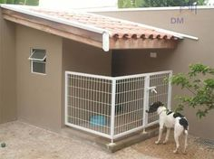 As a pet parent, you'll discover yourself wanting to spoil your pet dog and provide things which aren't necessarily in the standard needs category. Insulated Dog House, Dog House Plans, House Dog, Dog Spaces, Cool Dog Houses, Pet Dogs, Pets, Dog Runs, Outdoor Dog