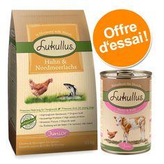 Animalerie  Offre découverte Lukullus spécial chiot  lot 1