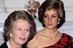 Thatcher and the Princess. .