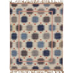 Swedish Kilim | From a unique collection of antique and modern russian and scandinavian rugs at http://www.1stdibs.com/furniture/rugs-carpets/russian-scandinavian-rugs/