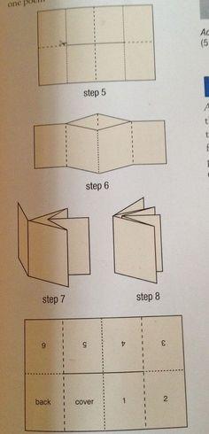 Origami design book folding Ideas for 2019 Up Book, Book Art, Card Book, Paper Book, Paper Art, Mini Albums, Book Crafts, Paper Crafts, Libros Pop-up