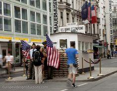 Checkpoint Charlie in Berlin in Deutschland