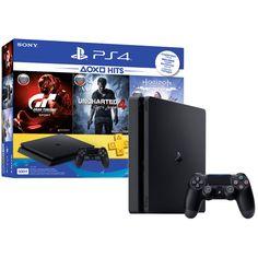 Игровая консоль PlayStation 4 500GB+GTS+UC4:Путь вора+Horizon:ZD CE (CUH-2108A)