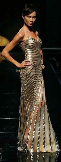 Rythym and repitition ....love it!               Fausto Sarli Couture - Fall Winter 2007
