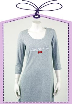 winter dream grey nightshirt by Louis+Louisa online available at www.pyjama-und-co.com