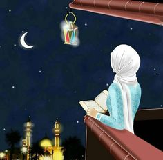 Uploaded by ‍princess Rose. Find images and videos on We Heart It - the app to get lost in what you love. Girly Drawings, Art Drawings For Kids, Islamic Images, Islamic Pictures, Ramadan Mubarak Wallpapers, Ramadan Poster, Ramadan Images, Islamic Cartoon, Anime Muslim