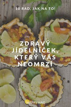 Zdravý jídelníček, který vás neomrzí: 10 rad, jak na to! #health #healthyfood #recept #recipe #zdravéjídlo #zdravýjídelníček Low Fodmap, Low Carb, Weight Loss Smoothies, Food Hacks, Food Inspiration, Healthy Life, Health Fitness, Healthy Recipes, Food And Drink