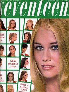 Our 1968 Model of the year was eighteen-year-old Cybill Shepherd, seen here on the December cover giving us a cute Twiggy-vibe.