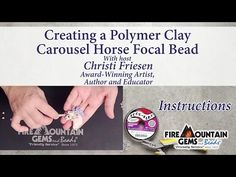 YouTube Jewelry Design Earrings, Clay Jewelry, Jewlery, Carosel Horse, Clay Videos, Polymer Clay Animals, Chainmaille, Mind Blown, Carousel