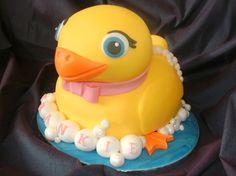 Rubber Duck Cake