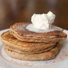 Snickerdoodle Pancakes Buttermilk Pancakes, Breakfast Pancakes, Pancakes And Waffles, Breakfast Cookies, Breakfast Casserole, Brunch Recipes, Breakfast Recipes, Breakfast Ideas, Breakfast Snacks