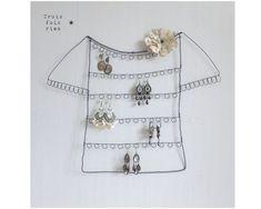 Porte BO fil de fer  Wire clothes