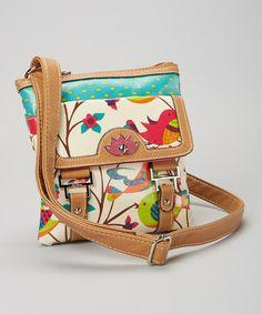 Look at this #zulilyfind! Tweety Twig Crossbody Bag by Lily Bloom #zulilyfinds