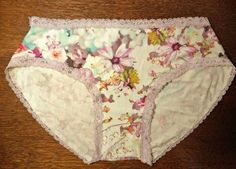 free panty pattern from RedHeels which is an awesome lingerie sewing blog