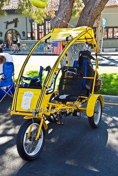 Hybrid Golf Cart Bicycle, Custom, Classic, Unique,