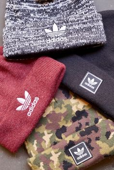 adidas Beanies at Zumiez