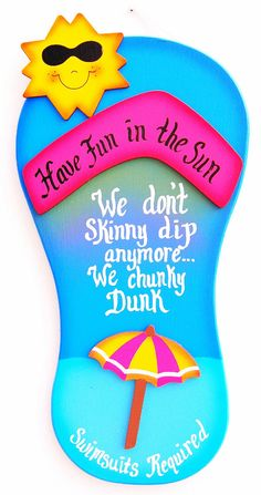 Funny Outdoor Pool Sign - We don& go skinny dipping, we go chunky Tropical Pool, Tropical Decor, Swimming Pool Signs, Pool Rules, Outdoor Signs, Backyard Signs, Pool Decks, Backyard Pools, Cool Pools