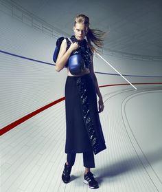 Surface China  July 2012  Photographer: Takahito Sasaki  Models: Vita West, Sarah Stephens  Stylist: Nicole Freeman