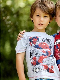 Spiderman comic strip t-shirt on shopstyle.co.uk